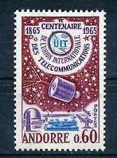 ANDORRE Fr. - 1965, yv. 173 - Satellite, Espace, neuf**