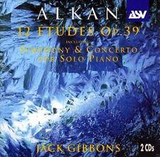 Alkan: 12 Etudes Op. 39 by Charles-Valentin Alkan, Jack Gibbons