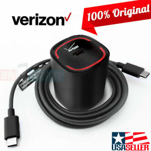 OEM Verizon LOGO Fast Charger Quick Charge Type-C Data Cable for LG G6 G5 V20