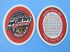 Beer Bar Coaster: SOUTH EASTERN Brewing Scarlet Fever ~ Columbia, SOUTH CAROLINA