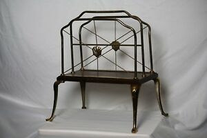 Contemporay Bronze Magazine Rack