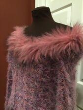Dina Bar-El Sweater Women's Size Medium Off The Shoulder