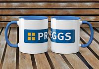Preggs Mug- Greggs Bakery Funny Novelty Pregnant Christmas Birthdays Laughter
