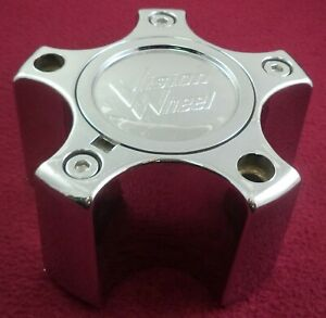 Vision Wheels Chrome Custom Wheel Center Cap # 375-5C65DOC (1)