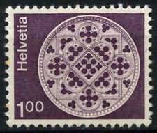 Svizzera 1973-80 SG # 858, 1F definitivi di fibre di carta MNH #D 45617