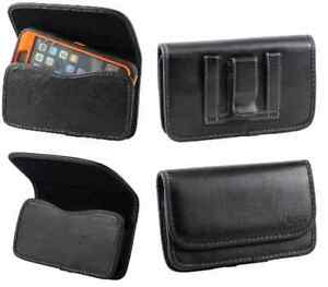 PU Leather carrying Belt Clip Pouch Case Holster To Fit Lifeproof /OtterBox Case