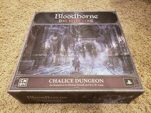 BLOODBORNE - THE BOARD GAME: CHALICE DUNGEON - unplayed!!