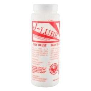 J-Lube Powder Lubricant Original Veterinarian Hand Lube 10 oz USA Authentic