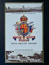 More details for regimental badges sandhurst - royal military college postcard gale & polden 1725