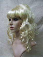 Sexy Blonde Beehive Beauty Wig 60s 70s Housewife Pinup Mod Drag Queen Playmate