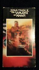 Star Trek The Wrath Of Khan in good condition vhs