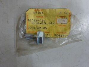 KAWASAKI NOS OIL DRAIN PLUG 92066-024 Z1 Z900 KZ900 Z1R-D1 KZ & Z1000-1977-78