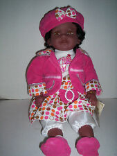 "Duck House African Americana Doll,18"", New"