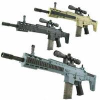 Scar Wasser Kugel Spielzeug Waffe Manuell Sniper Kristall Gel Ball Blaster