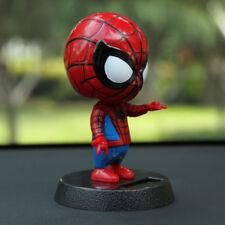 1pcs Dashboard Doll Nod Spider-Man Bobblehead Toy Car Ornaments Auto Decorations
