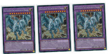 3 x Blauäugiger Zwillingsausbruch-Drache MP17-DE056,Secret R., Deutsch, Playset