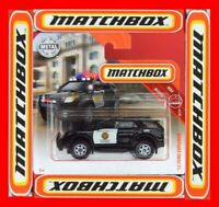 MATCHBOX 2018 ´12 FORD EXPLORER SAN DIEGO POLICE  58/100   NEU&OVP
