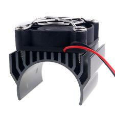 RC 540 550 Motor Alum Heat Sink 40x36mm Cooling Fan 5-7.4V HSP 7020 Gray Part