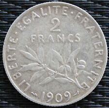 FRANCE 2 FRANCS SEMEUSE 1909 °