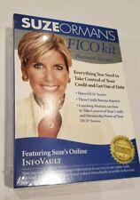 Suze Orman's FICO Kit Platinum Version Credit Score Coaching Personal Finance ,