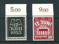 Luxus Berlin Mi-Nr. 110-111 Oberrand - postfrisch ** - Schlegel BPP - Mi. 50,-
