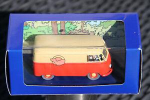 Tintin en voiture Le combi vw de l'affaire tournesol