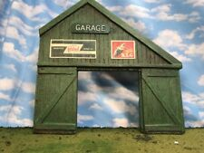 Scarce JG Miniatures English Auto Repair Shop Building Facade Only  1/32 54MM