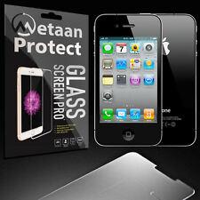 Für Apple iPhone 4 4S Schutzglaß Schutzfolie Panzerglas Echt Glas Schutz Folie