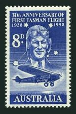 Australia 310,MNH. Sir Charles Kingsford-Smith.1st crossing of the Tasman Sea-30
