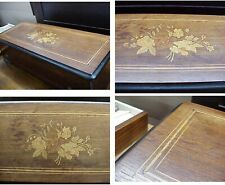 * Beautiful Antique Music Box, Double Comb, 13� Drum, #8864