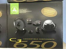 JL AUDIO C3-650 And A Set Of C2 570x