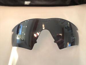 Vintage Oakley M Frame / Pro Hybrid OEM Grey Sunglass Lens +Bag