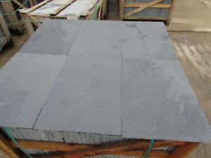 Brazilian Graphite Black Slate Tiles Flooring✔ 25m2 600x400 10mm Thick FREE DEL