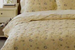 Martha Stewart Collection Bedding Vineyard Flower Full/Queen Only Blanket