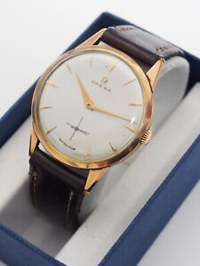 Vintage Omega 18k Solid Gold Watch Cal. 266 for Men