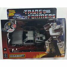 Transformers Collaborative Back to the Future Gigawatt Box Dmg