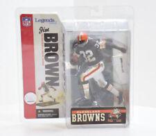 Jim Brown Cleveland Browns NFL McFarlane Action Figure NIB Legends Series 2