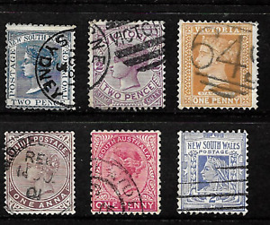 British Commonwealth .. Collection of Queen Victoria used postage stamps .. 6877