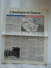 TRACT 2ème GM USA L'AMERIQUE EN GUERRE 19 AVRIL 1944 N°98/ VOIR AUTRES VENTES