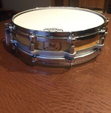 Pearl Free Floating Piccolo Snare Drum Maple Shell 14x3.5""
