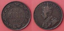 Fine 1915 Canada Large 1 Cent