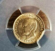 1916 $1 Gold McKinley Commemorative PCGS unc scratch b12