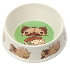 Eco Friendly Bamboo Composite Small Mopps Pug Pet Dog Food Dish Water Bowl