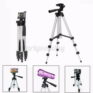 Universal Tripod Stand Telescopic Phone Camera Holder For iPhone Samsung Huawei