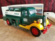 1985 First Hess Truck Toy Bank, Excellent Condition, Collectible