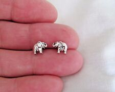 Sterling Silver 6.5mm Elephant Hypo-Allergenic Post stud earrings.