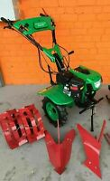 Cultivator Tiller Walk-behind Tractor 900C 7.5HP 5,5kW with ploughs NEW