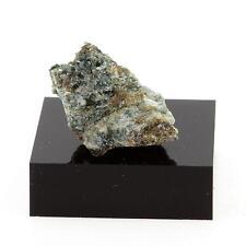 Brochantite Schist. 21.6 cts. Eastern Metals Mine, Québec, Canada