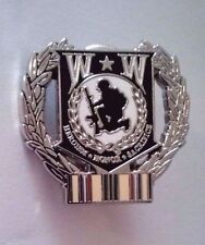 Wounded Warrior Desert Storm Hat Pin