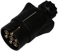 Fiche mâle 7pin prise connecteur de remorque 7 broches 12V 10mm C12374 attelage